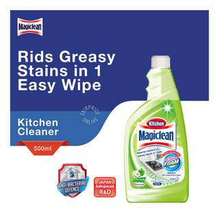 Magiclean Kitchen Cleaner Refill - Green Apple