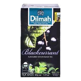 Dilmah Pure Ceylon Tea Bags - Blackcurrant