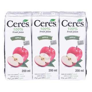 Ceres 100% Juice Packet Drink - Apple