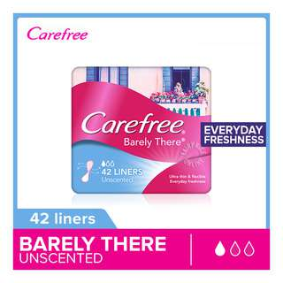 Carefree Barely There Pantiliners - Unscented