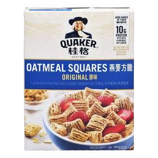 Quaker Oats Oatmeal Squares - Original