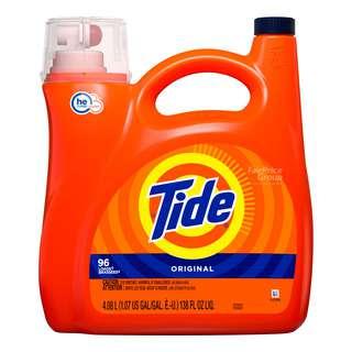 Tide He Turbo Laundry Liquid Detergent - Original