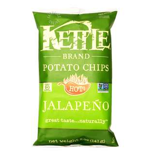 Kettle Brand Potato Chips - Jalapeno