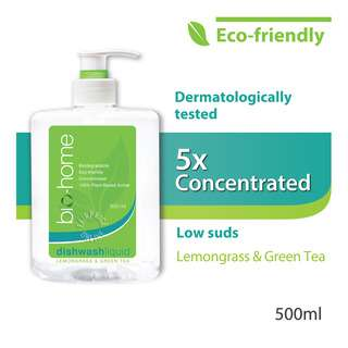 Bio-Home Dishwash Liquid - Lemongrass & Green Tea