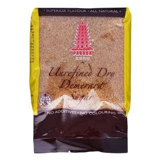 Pagoda Unrefined Dry Demerara Sugar