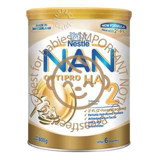 Nestle Nan Optipro HA Follow Up Formula 2'-FL - Stage 2