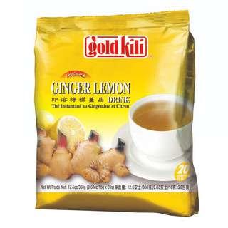 Gold Kili Instant Ginger Drink - Lemon