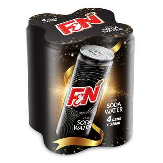 F&N Can Drink - Soda Water (Slim)