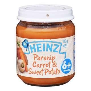 Heinz Baby Food - Parsnip Carrot & Sweet Potato (6+ Months)