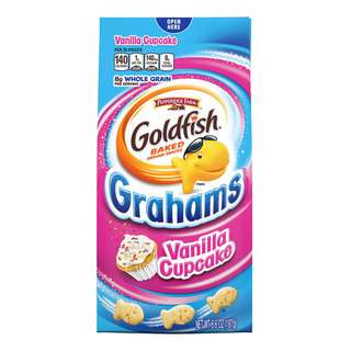 Pepperidge Farm Goldfish Baked Grahams - Vanilla Cupcake