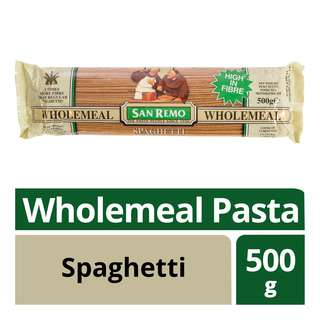 San Remo Wholemeal Pasta - Spaghetti