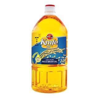 Knife Brand Rice Bran Oil