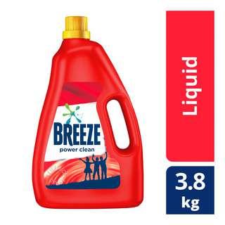 Breeze Liquid Detergent - Power Clean