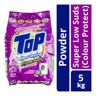 Top Detergent Powder Packet Super Low Suds - Colour Protect