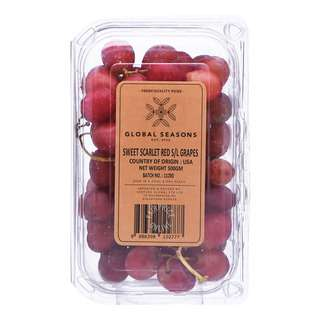 USA Sweet Scarlet Red Seedless Grapes