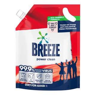 Breeze Liquid Detergent Refill - Power Clean