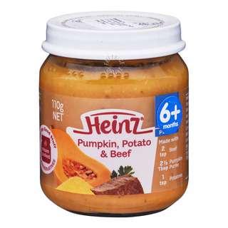Heinz Baby Food - Pumpkin, Potato & Beef (6+ Months)