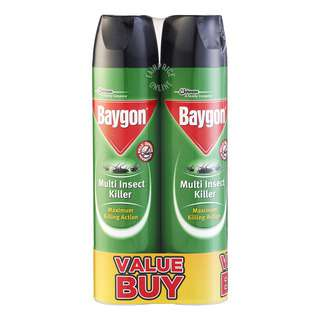 Baygon Multi Insect Killer - Maximum Killing Action