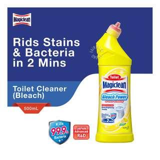 Magiclean Toilet Bleach Power Cleaner - Lemon