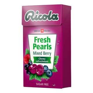 Ricola Fresh Pearls Sugar Free Candy - Mixed Berry