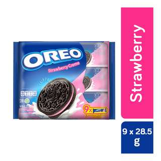 Oreo Cookie Sandwich Biscuit - Strawberry