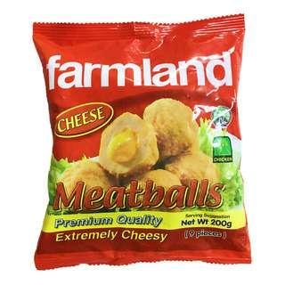 Farmland Frozen Chicken Meatballs - Cheese