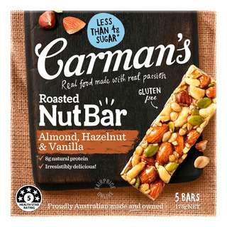Carman's Nut Bars - Almond with Hazelnut & Vanilla