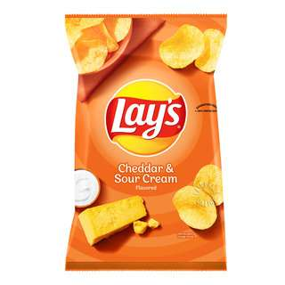 Lay's Potato Chips - Cheddar & Sour Cream