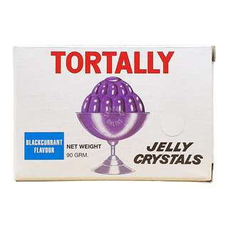 Tortally Jelly Crystals - Blackcurrant (Purple)