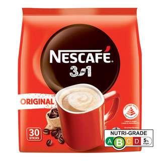 Nescafe 3 in 1 Instant Coffee - Original