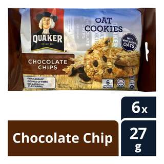 Quaker Oats Cookies - Chocolate Chip