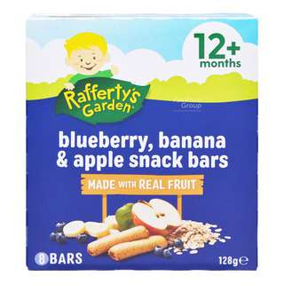 Rafferty's Garden Baby Fruit Snack Bar - Blueberry,Banana & Apple