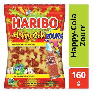 <p>Kids and grown-ups love it so, the happy world of Haribo - a commitment and a promise that Haribo has always maintained at all times to our customers. It is no coincidence that Haribo candies are most popular among consumers since many decades. Haribo Zourr lets you unify with your crew, making you feel alive and upbeat. For everyone who is young at heart, loves finding their inner teen, youthful spirited, who like experimenting. Stands for fun and collectivity.</p>