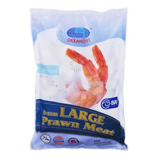 Okeanoss Frozen Large Prawn Meat (With Tail On)