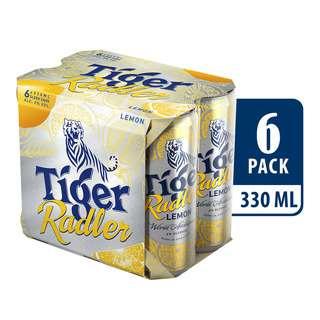 Tiger Radler Can Beer - Lemon
