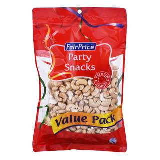 FairPrice Party Snacks - Natural Baked Cashews