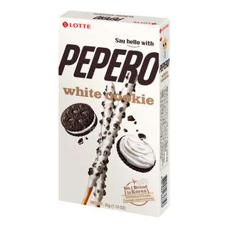Lotte Pepero Stick Biscuits - White Cookie