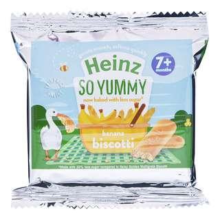Heinz Biscotti Baby Finger Biscuit - Banana (7+ Months)
