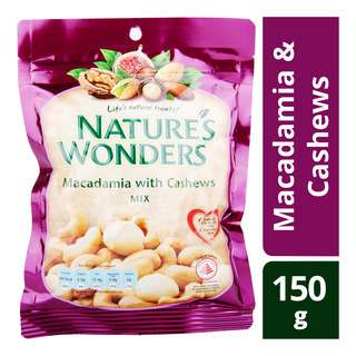 Nature's Wonders Nuts Mix - Macadamia & Cashews