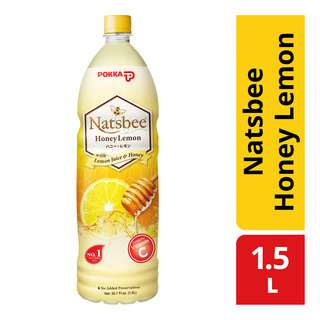 Pokka Bottle Drink - Natsbee Honey Lemon