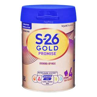 Wyeth S26 Promise Gold Grow Up Milk Formula - Stage 4