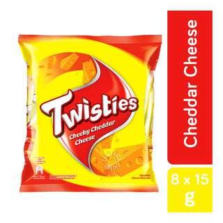 Twisties Corn Snack - Cheeky Cheddar Cheese