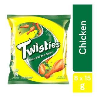 Twisties Corn Snack - Roast Chicken Dance