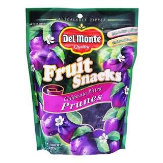Del Monte Premium Fruit Snacks - Pitted Prunes