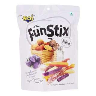 N.O.I Fun Stix Mixed Potato and Yam Stick - Salted