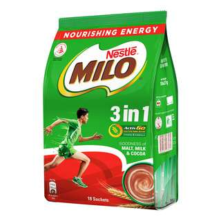 <p>Milo With Activ-Go gives you the energy to go further</p>