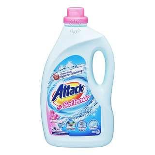 Attack Liquid Detergent - Plus Softener