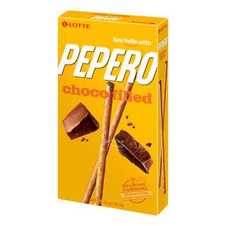 Lotte Pepero Stick Biscuits - Choco Filled