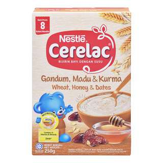 Nestle Cerelac Cereal - Wheat, Honey & Dates