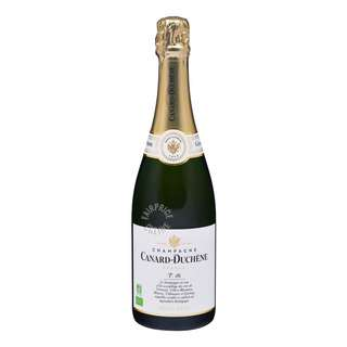 Canard-Duchene Authentic Nature Brut Champagne is a blend of grapes which have been grown organically